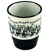 Disney Shot Glass - Finding Nemo - Mine, Mine, Mine B&W