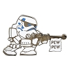 Disney Star Wars Pin - Storm Trooper - Pew Pew