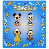 Disney 4 Pin Booster Set - Mickey and Friends Big Head Art Booster Set
