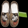 Disney Womens Crocs Shoes - Melbourne Mickey Distressed Loafers