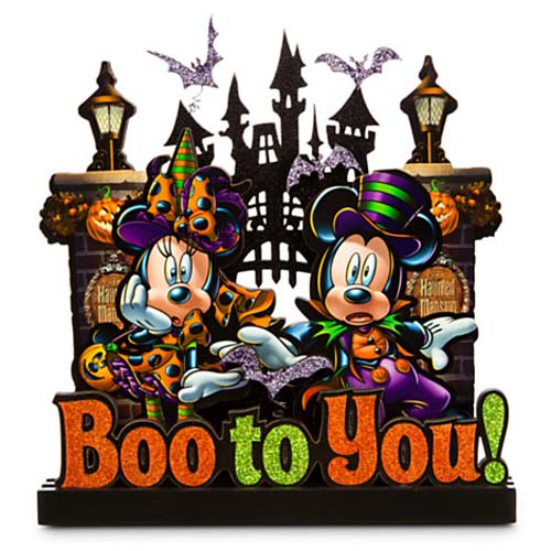 disney halloween sign boo to you mickey and minnie mouse - Mickey Minnie Halloween