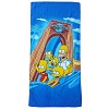 Universal Studios Beach Towel - The Simpsons