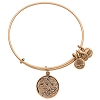 Disney Alex and Ani Charm Bracelet - Frozen Anna and Elsa - Gold
