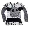 Disney CHILD Shirt - Double-Up Long Sleeve - Jack Skellington Tie Dye