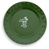 Disney Dinner Plate - Gourmet Mickey Mouse Icon - Green