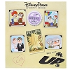 Disney 4 Pin Booster Set - Carl and Ellie thru the Years