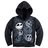 Disney CHILD Hoodie - Zippered Jack Skellington Faces
