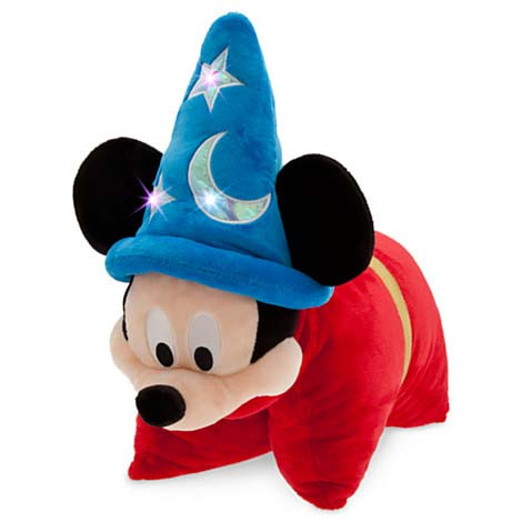 Your WDW Store - Disney Pillow Pet - Sorcerer Mickey Mouse Reverse Pillow Plush