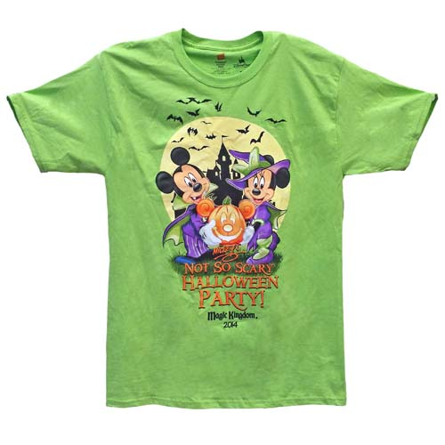 disney adult shirt 2014 mickeys not so scary halloween party - Scary Halloween Shirts