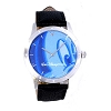 Disney Wrist Watch - Mickey Mouse Face for Woen - Blue