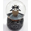 Disney Snow Globe - Musical Movement - Jack Skellington - RIP