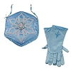 Disney Costume - Princess Gloves and Purse Set - Elsa of Arendelle