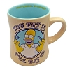 Universal Coffee Cup Mug - The Simpsons - You Fry It