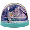 Disney Snow Globe - Frozen Anna Elsa and Olaf - Water Dome