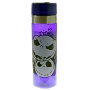Disney Water Bottle - Jack Skellington - Many Faces of Jack - Purple