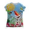 Disney CHILD Shirt - Frozen Sublimated Tee - Olaf