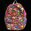 Disney Backpack Bag - Zip Up - Sweet Treats Mickey Icons
