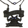 Disney Necklace - Haunted Mansion Authentic - Foolish Mortal