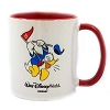 Disney Coffee Cup Mug - Golfing Donald - Red and White