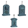 Disney Holiday Ornament Set - The Haunted Mansion Tombstones