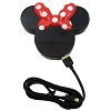 Disney 4 Port USB Hub - Minnie Mouse Icon - Black and Red