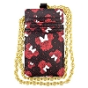 Disney Purse Insert - Minnie Mouse Rose Icon - Black and Red