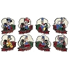 Disney Mystery Pin Set - Imagination Gala - Character Train - Complete