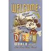Disney Throw Blanket - Welcome to Walt Disney World with Mickey Mouse