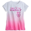 Disney GIRLS Shirt - Today is the Perfect Day Mickey Icon Text Tee