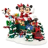 Disney Figurine Statue - Santa Mickey Mouse & Friends on Train Figure