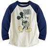 Disney CHILD Shirt - Mickey Mouse Raglan Tee for Boys