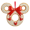 Disney Christmas Ornament - Mickey Icon Gingerbread