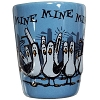 Disney Shot Glass - Finding Nemo - Mine, Mine, Mine - BLUE