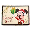 Disney Christmas Cards - Retro Mickey Happy Holidays