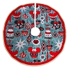 Disney Tree Skirt - Retro Mickey Christmas Ornaments - Swell Holidays
