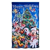 Disney Christmas Yard Flag Banner - Mickey and Friends Happy Holiday