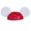 Disney Ears Hat Youth - Santa Minnie Mouse - Fur Ears