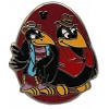Disney Hidden Mickey Pin - 2014 B Series - Disney Birds - Crows