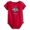 Disney Infant Bodysuit - Short Sleeve - Santa Mickey & Minnie Mouse
