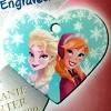 Disney Engraved ID Tag - Frozen - Anna & Elsa