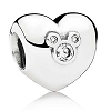 Disney PANDORA Charm - Heart of Mickey