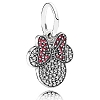 Disney PANDORA Charm - Sparkling Minnie Icon Dangle