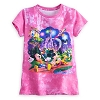 Disney Girls Shirt - New Storybook Walt Disney World Tie-Dye