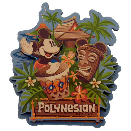 Disney Magnet Disney Magnet Polynesian Resort Logo