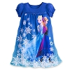 Disney Child Girls Pajamas - Frozen - Anna and Elsa Nightgown
