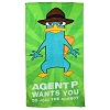 Disney Beach Towel - Perry The Platypus