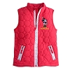 Disney Girls Jacket - Minnie Mouse Quilted Vest for Girls