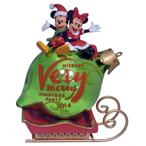Your WDW Store  Disney Holiday Ornament  Mickeys Very Merry