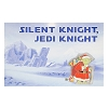 Disney Greeting Card Pin - Star Wars Yoda - Silent Knight Jedi Knight