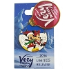 Disney Very Merry Christmas Party Pin - 2014 - Mickey & Minnie Mouse